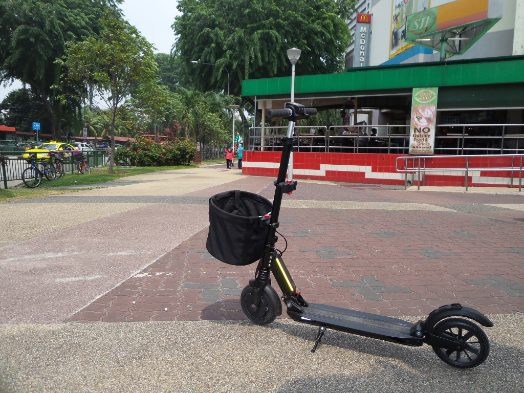 Electric Scooter Basket Singapore Quick Release Accessories